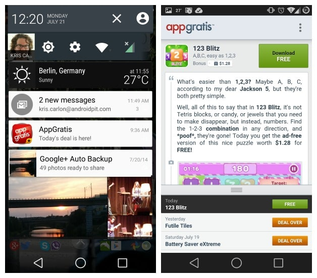 AndroidPIT-AppGratis-notification