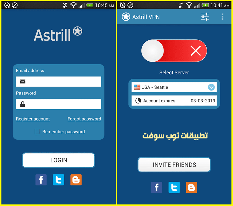 Astrill VPN For Android