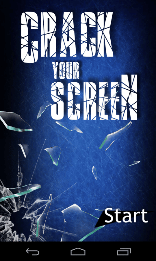 Crack Your Screen11