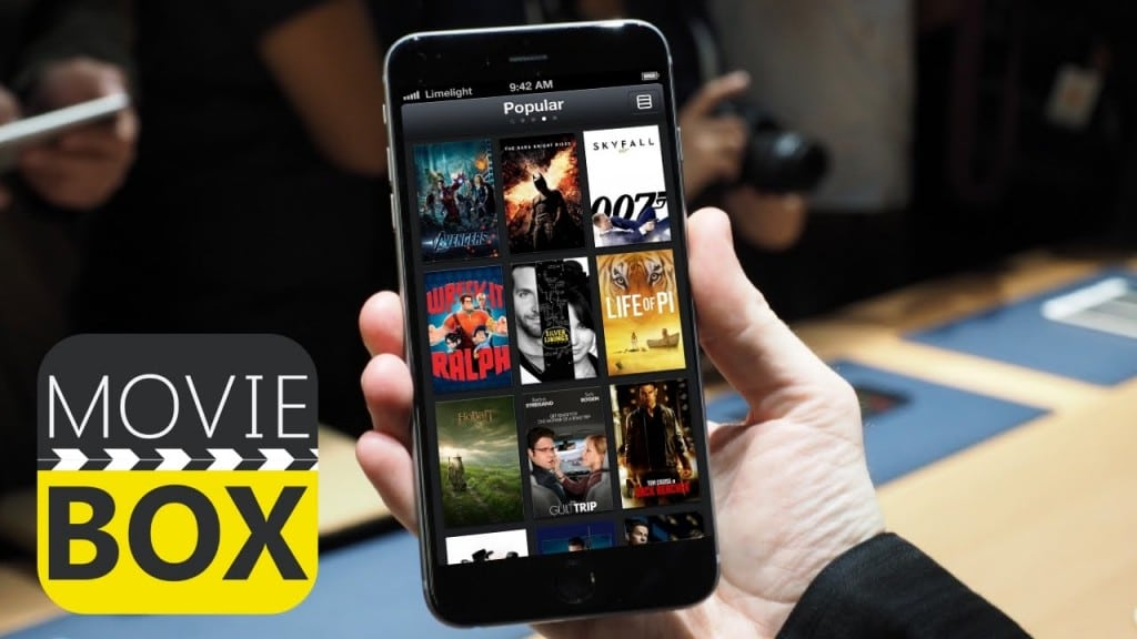 Download Movie Box on your iPhone
